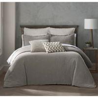 Highline Bedding Co. Reese King/California King Duvet Cover Set in Grey