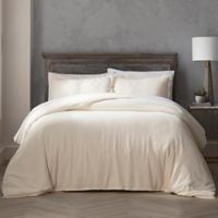 Highline Bedding Co. Reese Full/Queen Duvet Cover Set in Cream