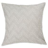 Christy Upton European Pillow Sham in Silver