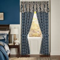 Croscill® Madrena 84-Inch Rod Pocket Window Curtain Panel Pair in Teal