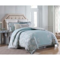 Charisma Molani King 4-Piece Comforter Set in Turquoise/Silver