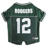 NFL Green Bay Packers Aaron Rodgers Small Dog and Cat Football Jersey