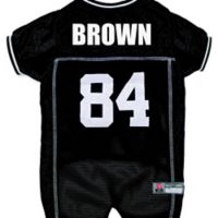 NFL Pittsburgh Steelers Antonio Brown Extra Small Dog and Cat Football Jersey