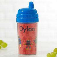 Just For Them Personalized Sippy Cup- Blue
