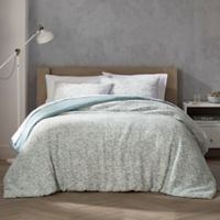 Highline Bedding Co. Habit Collection Orli Full/Queen Duvet Set in Spa Blue