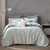 Highline Bedding Co. Habit Collection Orli Full/Queen Comforter Set in Spa Blue