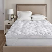 Wamsutta® Double Support Technology Full Featherbed in White