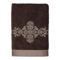 Avanti York II Hand Towel in Mocha