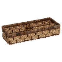 Peconic Bay Divided Tray in Natural/Brown