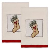 Avanti Farmhouse Holiday Hand Towels (Set of 2)