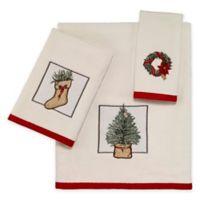Avanti Farmhouse Holiday 3-Piece Towel Set