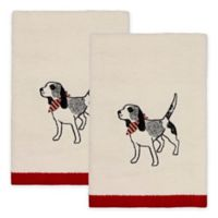 Avanti Happy Pawlidays Hand Towels (Set of 2)