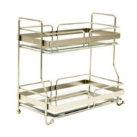 Robely Sotto 2-Tier Vanity Tray in Satin