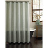 Galloway Shower Curtain in Aqua