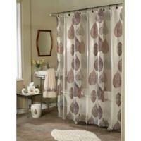 Goassamer Leaf Multicolor Shower Curtain
