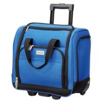 Geoffrey Beene Hempstead 16-Inch Rolling Underseat Luggage in Royal Blue