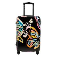 Vera Bradley® Butterfly 22-Inch Hardside Spinner Checked Luggage