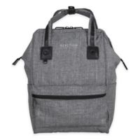 Kenneth Cole Reaction Wide-Mouth Laptop Backpack in Grey