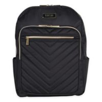 Kenneth Cole Reaction Quilted Chevron Backpack in Black