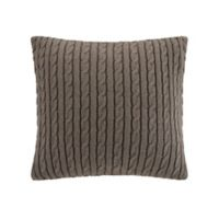 Woolrich® Winter Hills Square Throw Pillow in Taupe