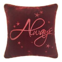 "Harry Potter ""Always"" Square Throw Pillow"