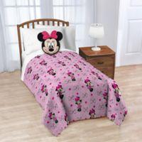 Disney® 2-Piece Minnie Nogginz Throw Blanket and Pillow Set