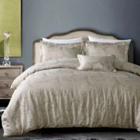 Hotel Paisley Full/Queen Duvet Cover Set in Taupe