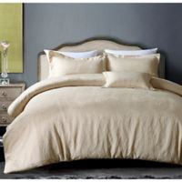 Hotel Paisley King Duvet Cover Set in Champagne
