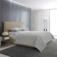 Vera Wang Mirrored Queen Comforter Set in Light Grey