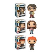 Funko POP! 3-Pack Harry Potter Movie Series 4 Collectors Figurines