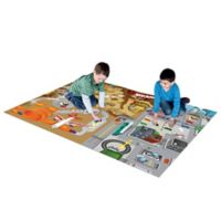 Hot Wheels Mega Mat Play Mat with 2 Bonus Vehicles