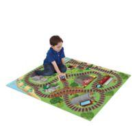 Thomas & Friends 47-Inch x 35-Inch Mega Play Mat with Bonus Vehicle