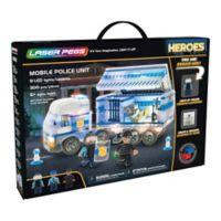 Laser Pegs Heroes Mobile Police Unit 300-Piece Block Set