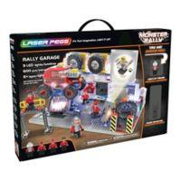 Laser Pegs Monster Rally Truck Garage 600-Piece Block Set