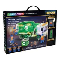 Laser Pegs Heroes Recycle Truck 330-Piece Block Set