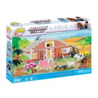On The Ranch 350-Piece Building Farm Set