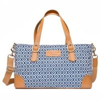 Austin Fowler Savannah Diaper Bag in Blue/White