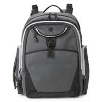 Jeep® Adventurer's Backpack Diaper Bag in Grey