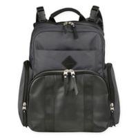 Ergobaby™ Anywhere Diaper Backpack in Grey/Black