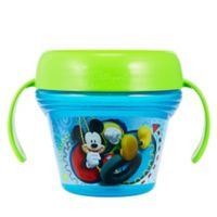 The First Years™ Disney® Mickey Mouse Spill-Proof Snack Cup in Blue