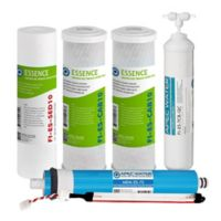 Essence UV sanitizing 75 GPD 6-Stage Complete Filter Set