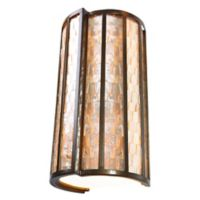 Varaluz Affinity 2-Light Wall Sconce in Bronze
