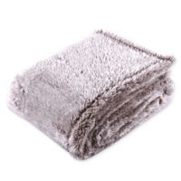 Berkshire Blanket® Frosted Extra-Fluffy Flow Blanket in Chocolate Brown