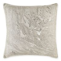 Cloud9 Design Granite Square Throw Pillow in Grey