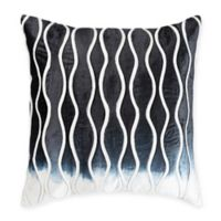 Cloud9 Design Velvet Ombré Square Throw Pillow in Navy