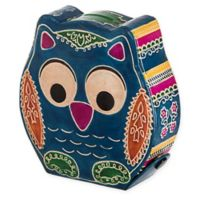 Cashbah Athena the Owl Tzedakah Charity Box