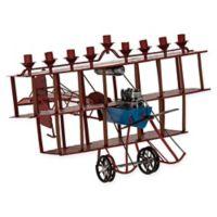 Fantastic Flying Machine Hanukkah Menorah