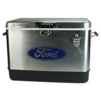 Northlight 54 qt. Standing Cooler in Stainless Steel