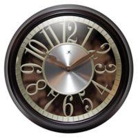 Infinity Instruments Leeds 15-Inch Wall Clock