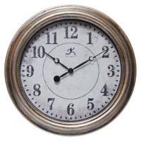 Infinity Instruments Aged 15-Inch Wall Clock